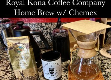 Royal Kona Coffee Home Brew w/ Chemex